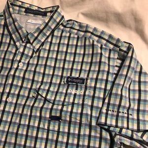 Columbia PFG SUPER BONEHEAD Omni-Shade Mens Shirt
